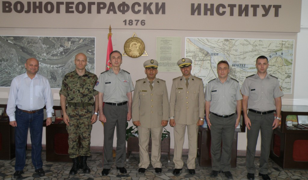 Посета делегације Министарства народне одбране Алжира