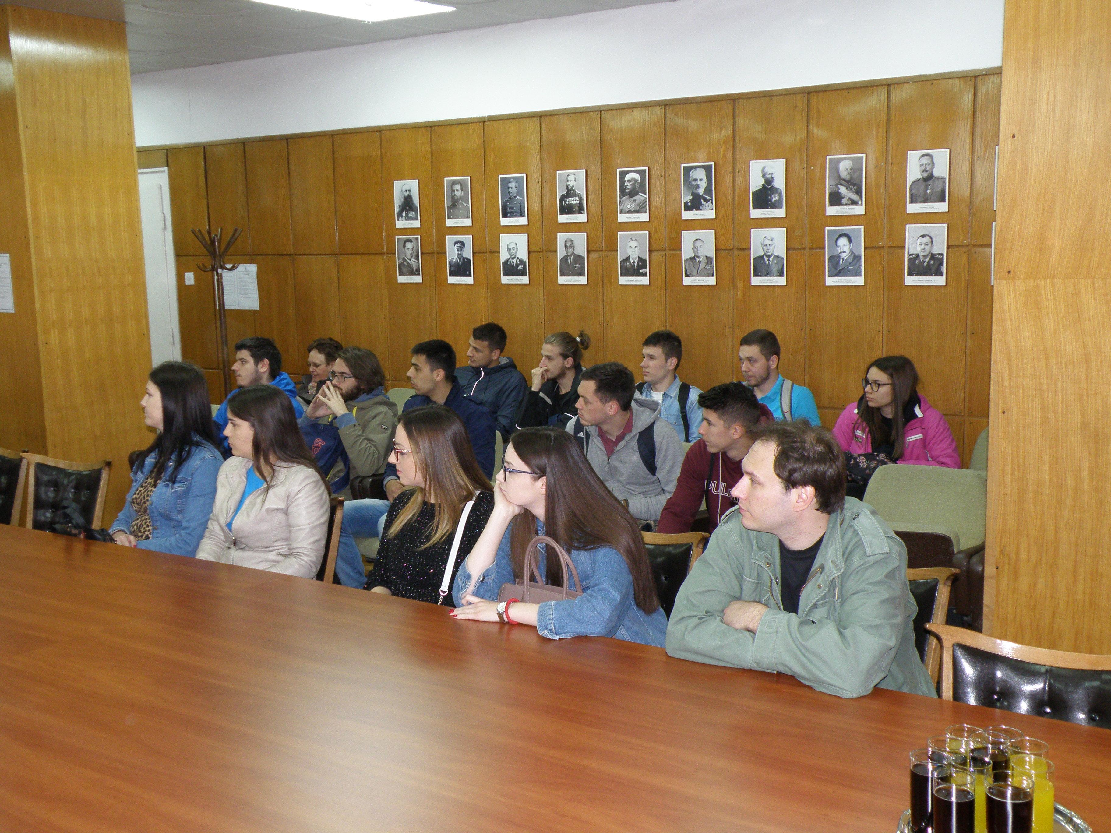 Poseta studenata Geografskog fakulteta Vojnogeografskom institutu