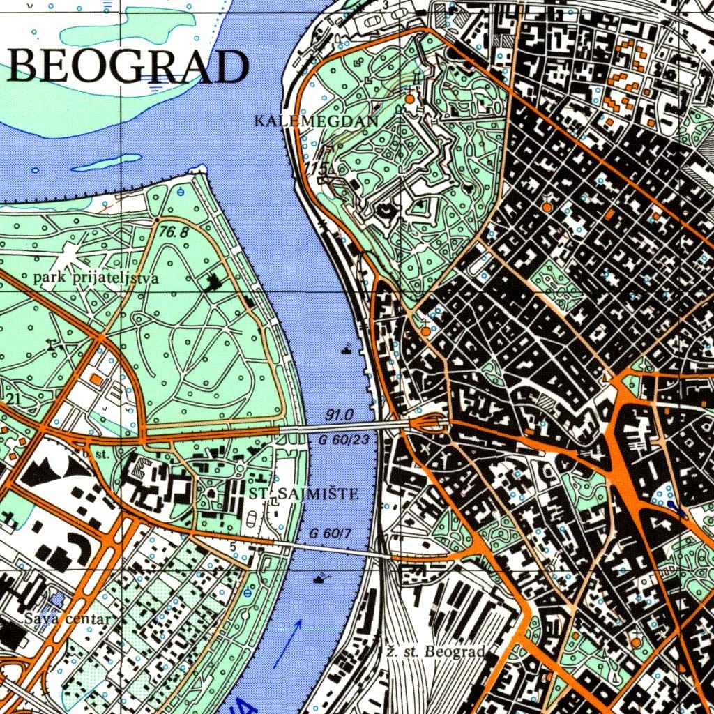 Topografska karta 1:25 000 (TK25/II, TK25/III), drugo i treće izdanje